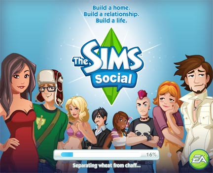 The SIMS social game