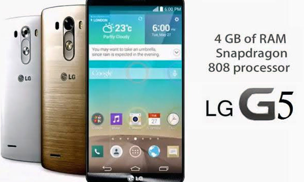 LGG5 Smart Phone Specifications